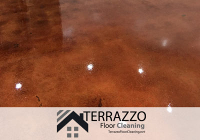 Terrazzo Floor Cleaning - How to clean old terrazzo floors